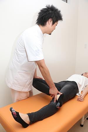 骨盤と内臓が元通りになった事により、股関節が正常に。痛みも消えました