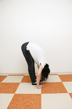 柔らかかった腰がさらに柔らかく!!Aさんの良い筋肉なら実はこれくらい動けた
